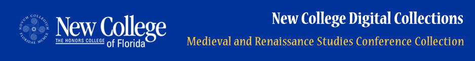 Medieval and Renaissance Studies Conference